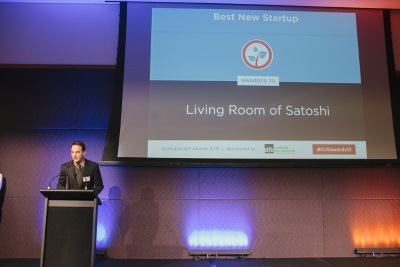 Living room of satoshi startupsmart 2015 winner for Living room of satoshi tax